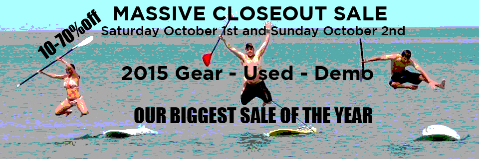The biggest stand up paddleboard sale of the year