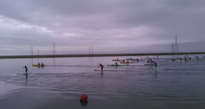 Paddle Racers raise $1865 for Charity
