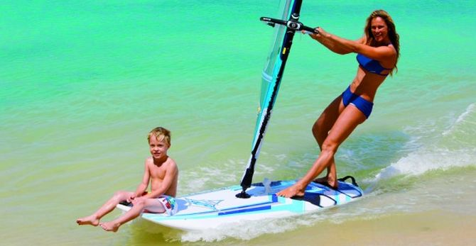 Learn how to windsurf with 101 Surf Sports