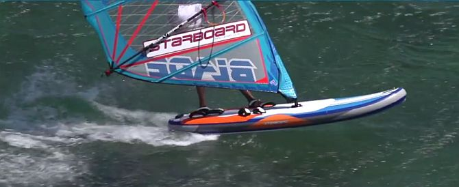 Starboard Airplane Inflatable Windsurfer