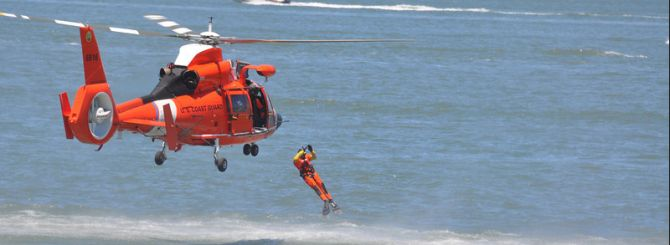 Coast Guard Comes to the Rescue