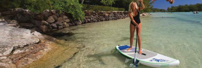 teh best inflatable stand up paddleboard from Starboard and Red Paddle Co.