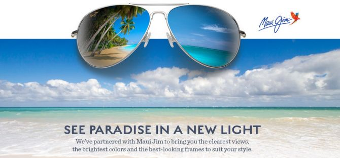 Maui Jim Sunglasses new to our Marin Shop
