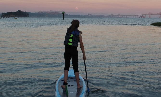 Moonlight Stand up paddleboard tours
