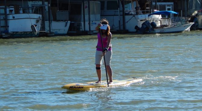 Summer Sprint and Distance Paddle Racing in Redwood City and San Rafael