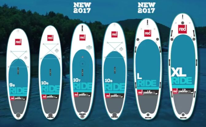 Red Paddle Inflatable Stand Up Paddleboards at our San Rafael Shop