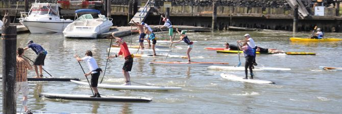 Stand Up PAddleboard Racing Marin County San rafael