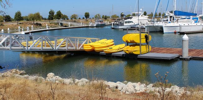 Stand UP Paddleboard and Kayak Rentals on San Francisco Bay