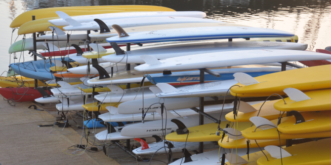 spring-used-stand-up-paddleboard-and-kayak-sale