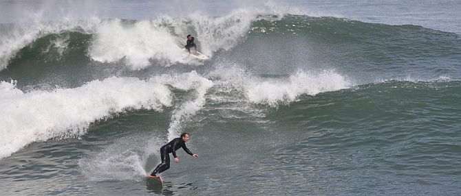 San Francisco Surfing Lessons and Surfing Rentals
