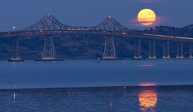 Moonlight Paddle Tour San Francisco Bay