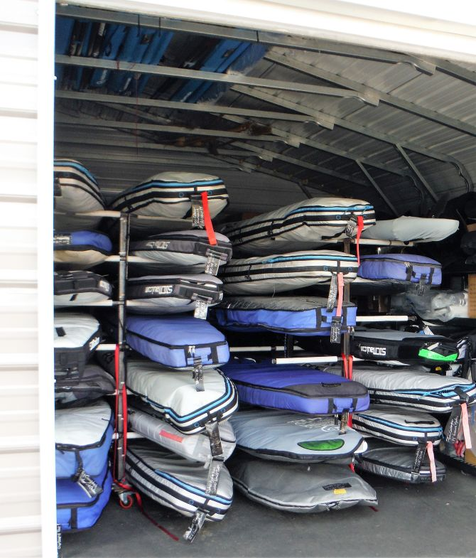 valet SUP kayak storage