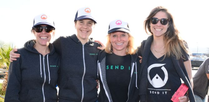 Team Send It at 101 Surf Sports