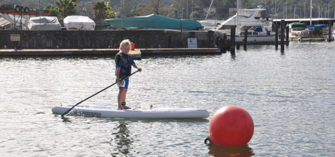 Kids race free at 101 Surf Sports Paddle Races