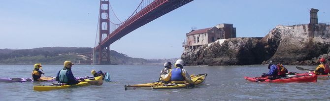 sea kayaking classes and tours San Francisco Bay