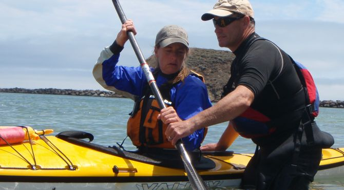 sea kayaking classes on San Francisco Bay