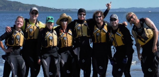 Become a kayak instructor on San Francisco Bay!