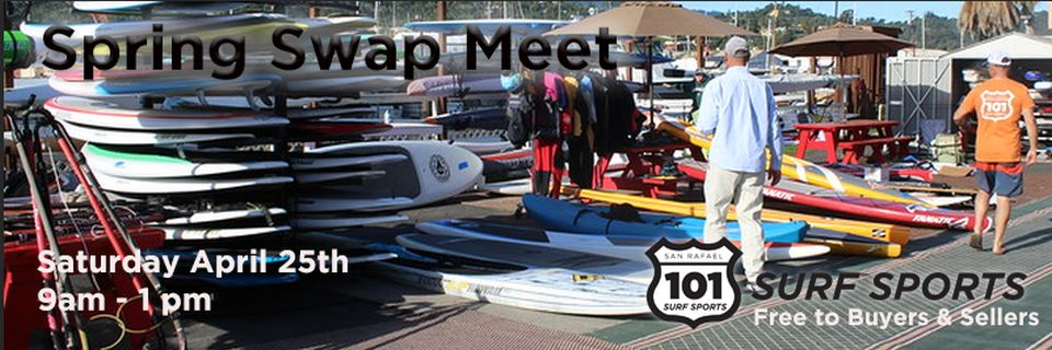 Water Sports Swap Meet Used Kayaks and Paddleboards