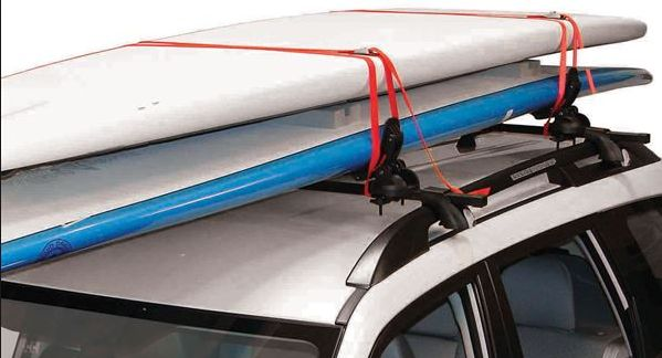 How to strap a board to your car