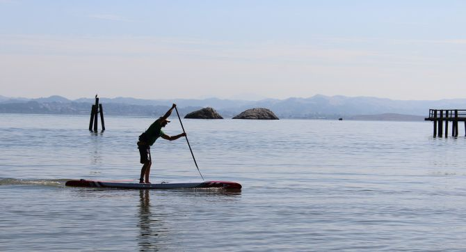 go paddleboarding for your health
