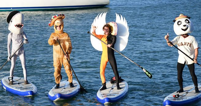 San Francisco Giants SUP Race Team