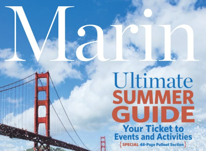 marin magazine summer guide