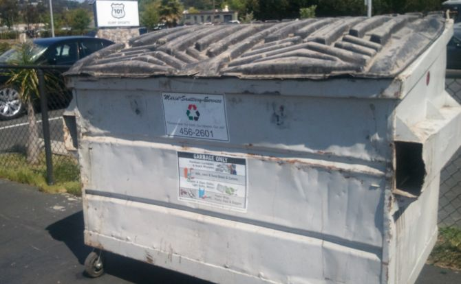 marin sanitation does their part to clean up their community!