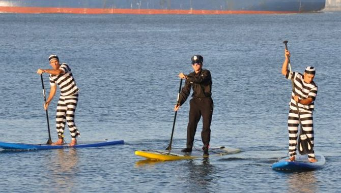 Stand Up Paddleboarding Law Enforcement Appreciation Day