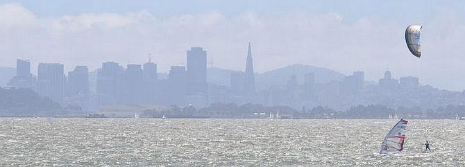 San Francisco Bay Windsurfing and Kiteboarding