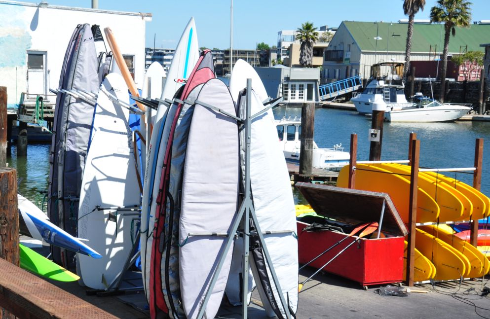 Self Service Stand Up Paddleboard Storage
